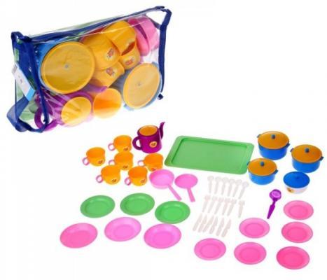 Набор посуды Пластмастер Позови гостей 21057 набор бусин пластмастер шоу бокс 1 22294 голубой