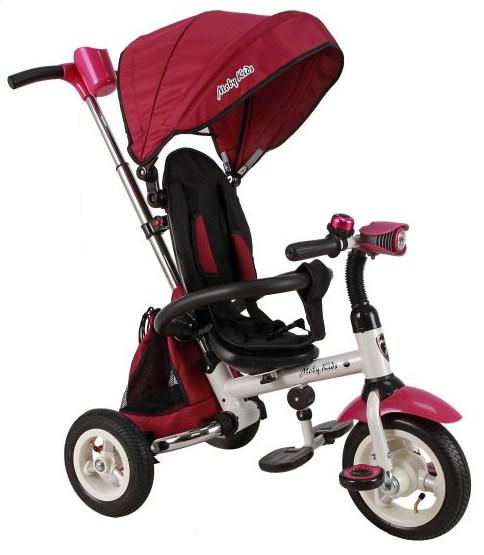 Велосипед Moby Kids Junior-2 розовый T300-2Girl