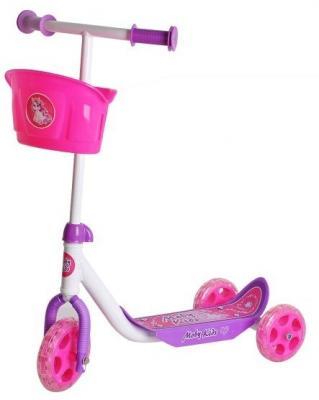 цена на Самокат Moby Kids Кроха розовый 64639