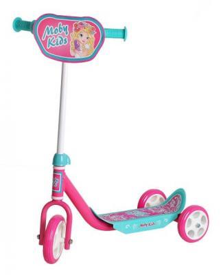 Самокат Moby Kids Мечта розовый 64637 самокат трехколесный moby kids мечта 64637