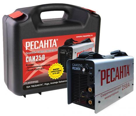 Аппарат сварочный Ресанта САИ 250К 65/38 сварочный аппарат инверторный ресанта саи 250к компакт