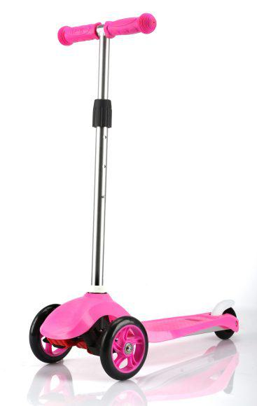 Самокат Moby Kids 64659 розовый