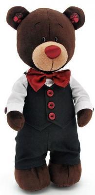 Мягкая игрушка медведь Orange Choco жених искусственный мех коричневый 30 см С5042/30