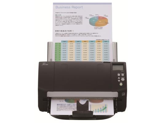 Сканер Fujitsu fi-7180 протяжный А4 600x600 dpi CCD 80ppm USB черный PA03670-B001