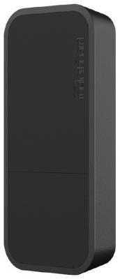 Точка доступа Mikrotik wAP 802.11n 300Mbps 2.4ГГц черный RBwAP2nD-BE