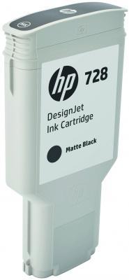 Картридж HP 728 F9J68A для DJ Т730/Т830 матовый черный