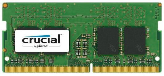 Оперативная память для ноутбуков SO-DDR4 4Gb PC4-17000 2133MHz Crucial CT4G4SFS8213