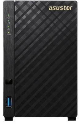 Сетевое хранилище Asustor AS-3102T 2 отсека NAS Celeron 2.16GHz 2Gb DDR3 SATAll SATAIII SSD 3xUSB3.0 HDMI без HDD
