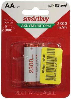 Аккумулятор Smart Buy SBR-2A02BL2300 2300 mAh AA 2 шт