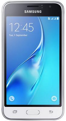"Смартфон Samsung Galaxy J1 2016 белый 4.5"" 8 Гб LTE Wi-Fi GPS 3G SM-J120FZWDSER"