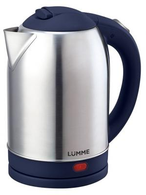 Чайник Lumme LU-219 1800 Вт синий металлик 2 л металл
