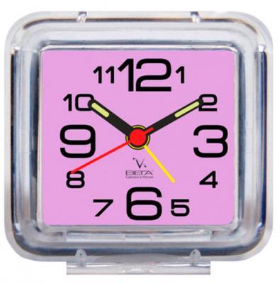 Будильник Вега Б1-058 фиолетовый будильник вега