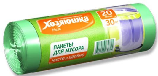 Пакеты для мусора Хозяюшка Мила 07001-80