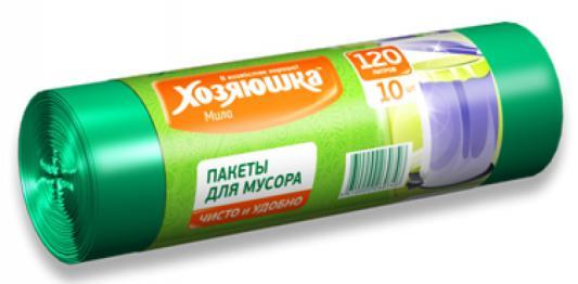 Пакеты для мусора Хозяюшка Мила 07004