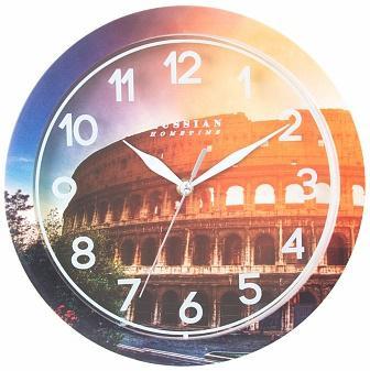 Часы настенные Вега Колизей П 1-268/7-268 рисунок