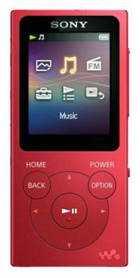 Плеер Sony NW-E394 8Гб красный