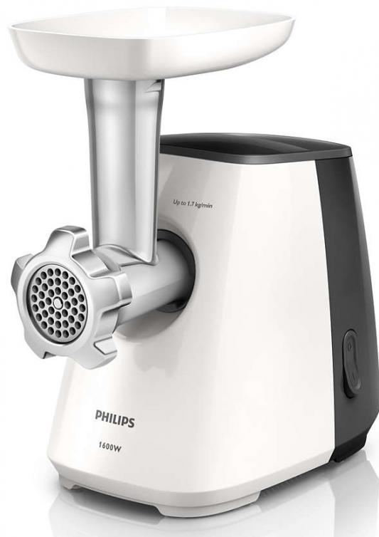 Электромясорубка Philips HR2713/30 450 Вт чёрный белый