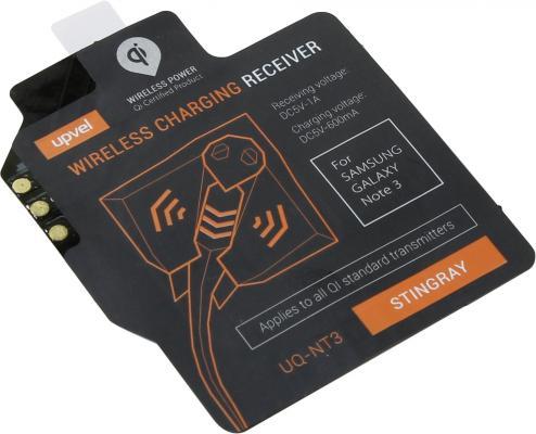 Беспроводное зарядное устройство Upvel UQ-NT3 Stingray черный upvel uq ci5 stingray для iphone 5 5s black чехол приемник для беспроводной зарядки стандарта qi