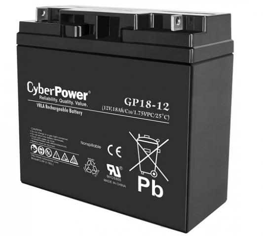 Батарея CyberPower 12V18Ah B11-0000059-00
