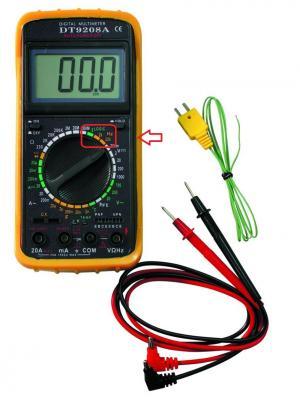 Мультиметр Ресанта ТЕК DT 9208A