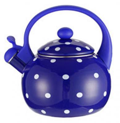 Чайник Zeidan Z-4115-02 синий 2.5 л металл чайник zeidan z 4115 02 синий 2 5 л металл