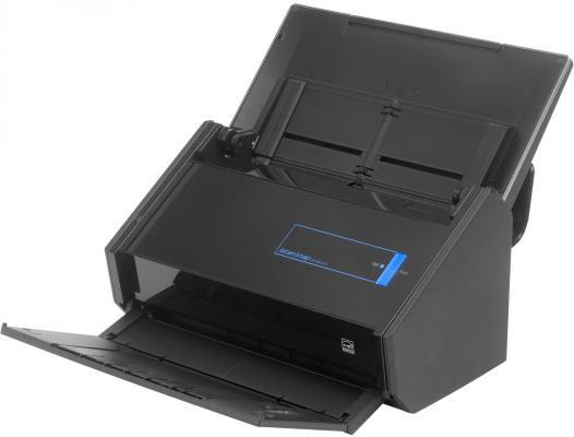 Купить со скидкой Сканер Fujitsu ScanSnap iX500 протяжный А4 600x1200 dpi CIS 25ppm USB Wi-Fi черный PA03656-B001/PA03