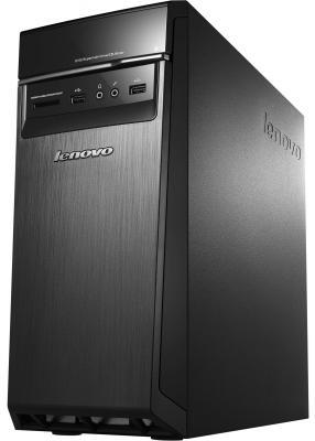 Системный блок Lenovo 300-20ISH i3-6100 3.7GHz 4Gb 1Tb GF730-2Gb DVD-RW Win10 черный 90DA0065RS