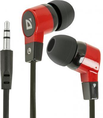 Наушники Defender Basic-619 черно-красный 63619 стоимость