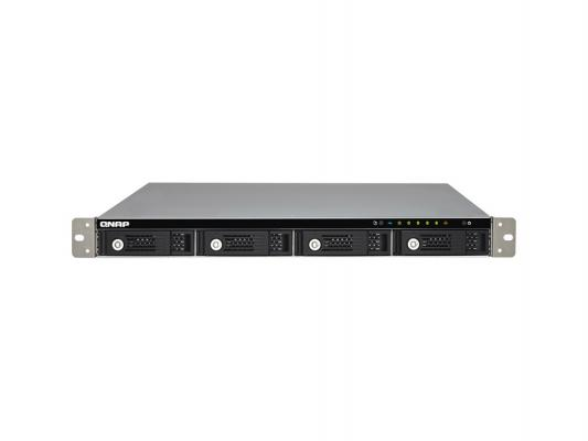 "Сетевое хранилище QNAP TS-431U Cortex A9 1.2.ГГц 4x3.5""HDD hot swap 2xGbLAN 2xUSB"