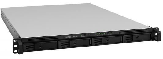 Сетевое хранилище Synology RS815RP+ 4x2,5 / 3,5 synology synology ds418 четыре разрядное nas network storage server без внутреннего жесткого диска