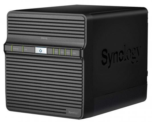 "Сетевой накопитель Synology DS416J 4x2.5""/3.5"" HDD RAID 0/1/10/5/6 GbLAN 2xUSB"
