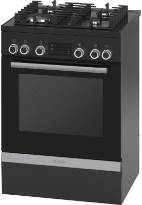 Комбинированная плита Bosch HGD74X465R черный