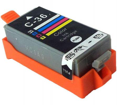 Картридж Cactus CLI-36 для Canon Pixma 260 цветной цена и фото