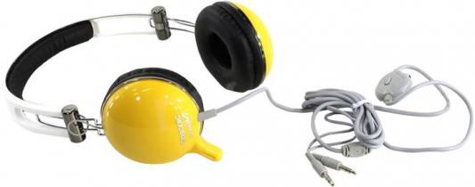 Гарнитура Cosonic CD-668MV желтый