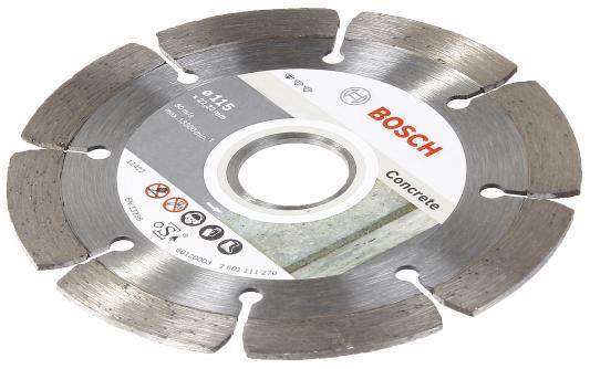 Алмазный диск Bosch STF Concrete 125-22,23 2608602197 алмазный диск bosch 180 22 23 2608602194