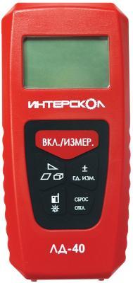 Лазерный дальномер Интерскол ЛД-40 142.1.0.00