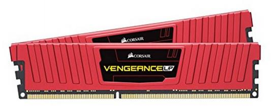 Оперативная память 8Gb (2x4Gb) PC4-19200 2400MHz DDR4 DIMM Corsair CMK8GX4M2A2400C16R оперативная память corsair cmv8gx4m1a2400c16 dimm 8gb ddr4 2400mhz dimm 288 pin pc 19200 cl16