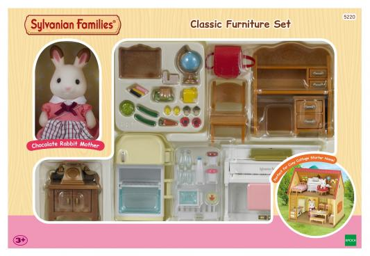Игровой набор Sylvanian Families Мебель для дома Марии от 3 лет 5220 набор мебель для дома марии sylvanian families