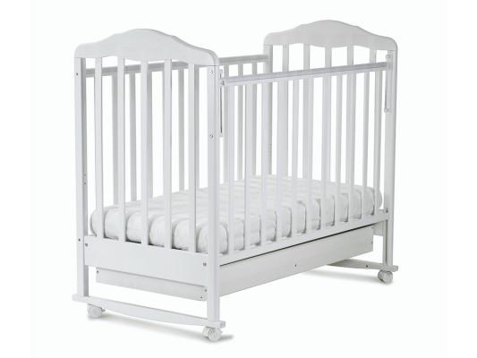 Кроватка-качалка СКВ Березка (белый/121111)
