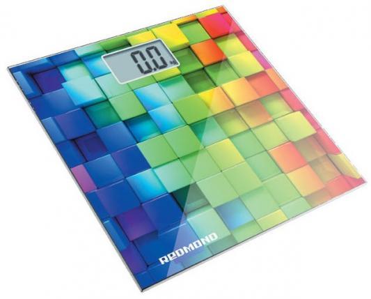 Весы напольные Redmond RS-708 белый/кубики