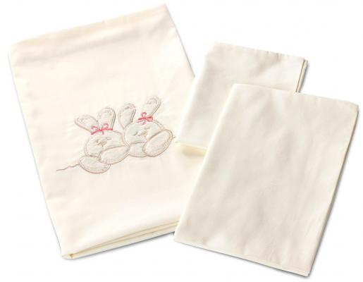 Постельный сет 9 предметов Nuovita Due Orsi (одеяло -2шт, подушка, под.-2шт, нав.,прост.-2шт, борт/beige)