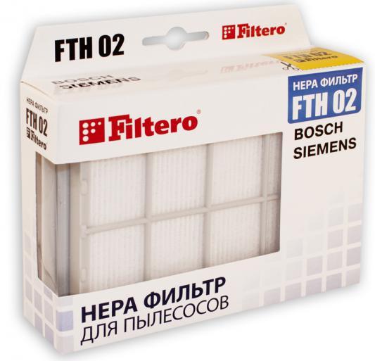 НЕРА-фильтр Filtero FTH 02 нера фильтр filtero fth 99