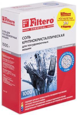 Соль для посудомоечных машин Filtero 707 1кг + 3 таблетки