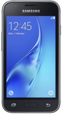 Смартфон Samsung Galaxy J1 Mini 2016 черный 4 8 Гб Wi-Fi GPS 3G SM-J105HZKDSER DUOS samsung galaxy s4 2 ядра dual 5 дюймов wi fi duos android 4 0 2 sim