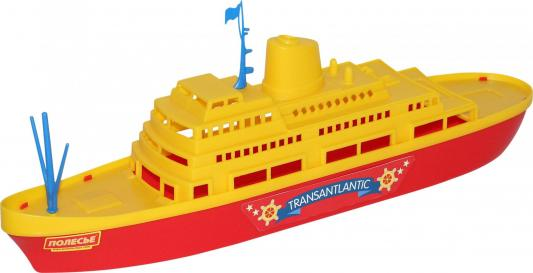 Корабль Полесье Трансатлантик разноцветный 46 см 56382 игрушка полесье корабль чайка 36964