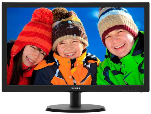 "Монитор 22"" Philips 223V5LHSB2/00 01 монитор philips 243v7qdab 00 01"