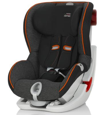 Автокресло Britax Romer King II LS (black marble highline)