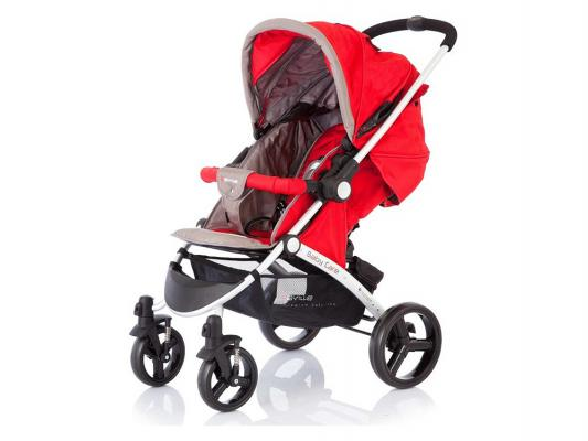 Прогулочная коляска Baby Care Seville (mud/red)