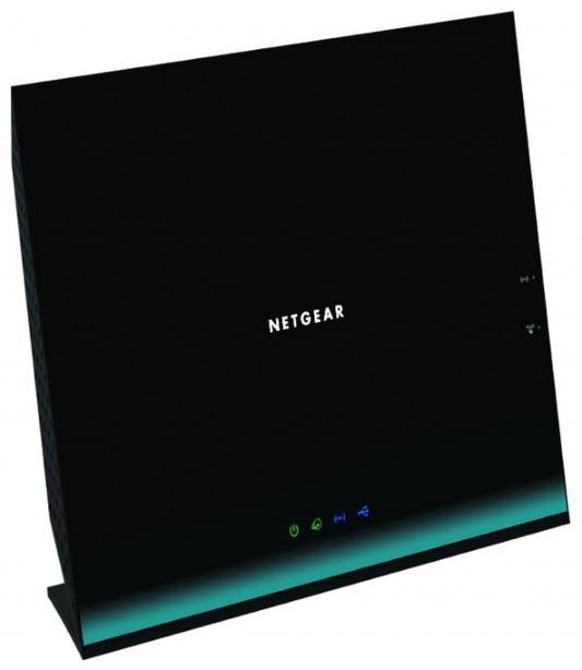 Беспроводной маршрутизатор NETGEAR R6100-100PES 802.11ac 1167Mbps 2.4/5ГГц 4xLAN черный