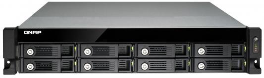 Сетевое хранилище QNAP TVS-871U-RP-i3-4G Intel Core i3-4150 8xHDD